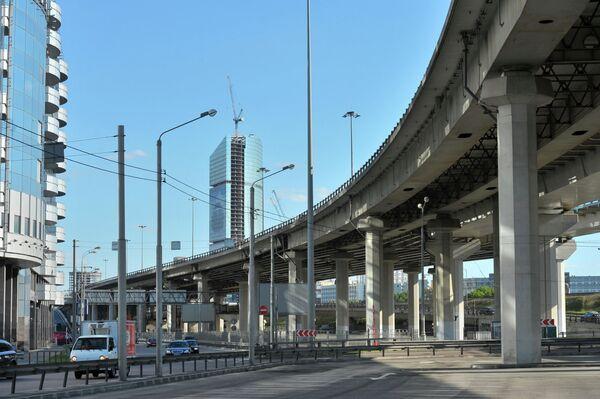Транспортные развязки в Москве