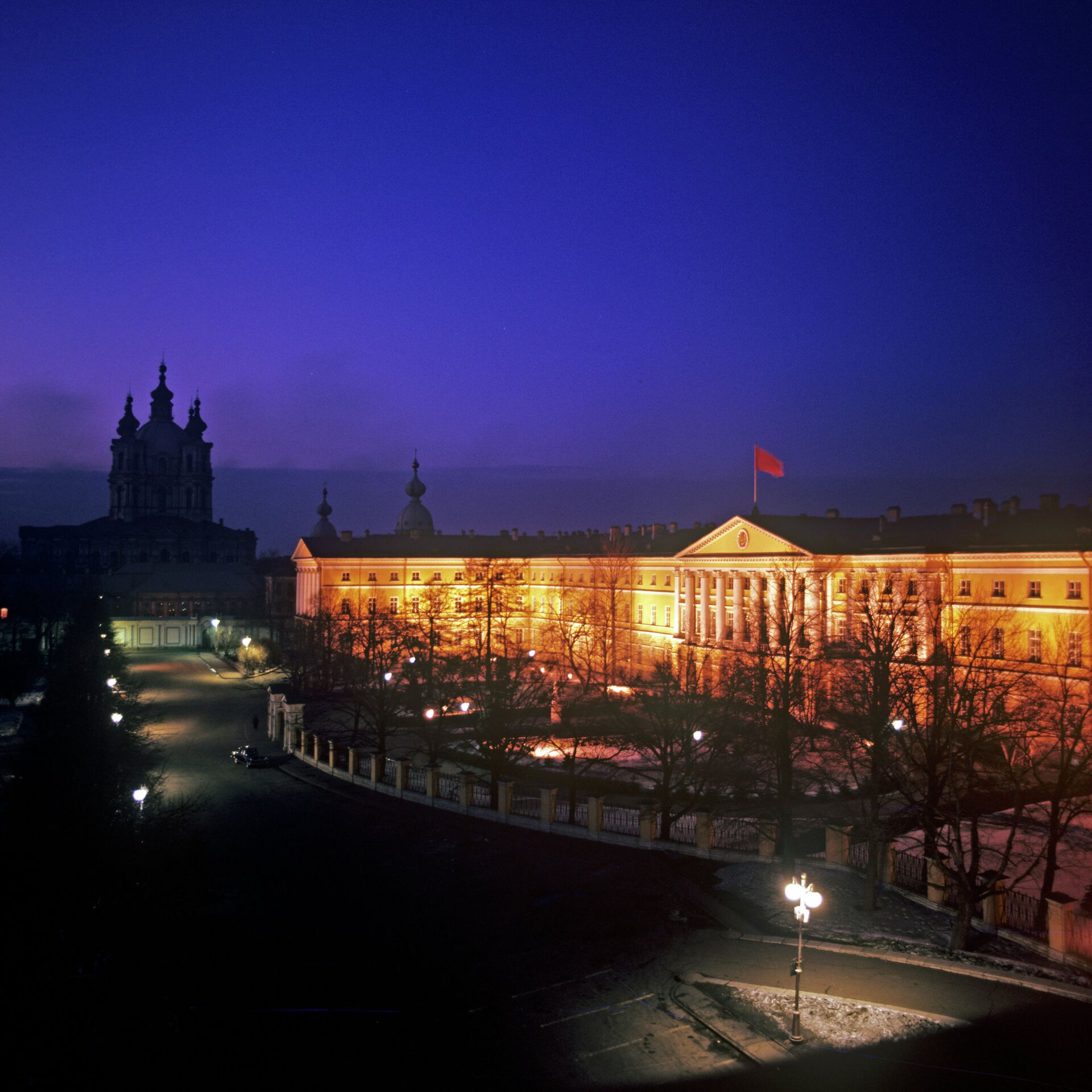 Здание Смольного института - РИА Новости, 1920, 14.02.2021