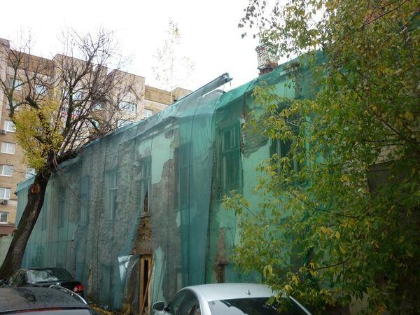 Северный флигель городской усадьбы Шубиных на Малой Дмитровке в Москве