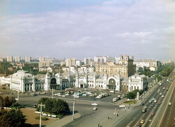 Площадь Белорусского вокзала
