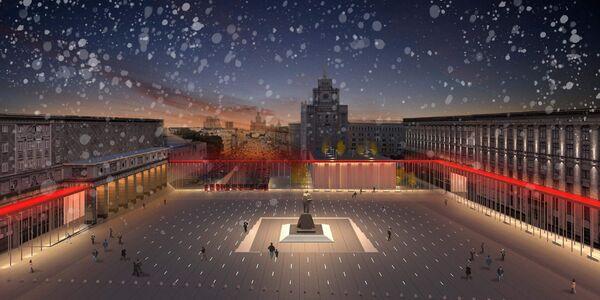 проект реконструкции Триумфальной площади архбюро MAGLY Proekt