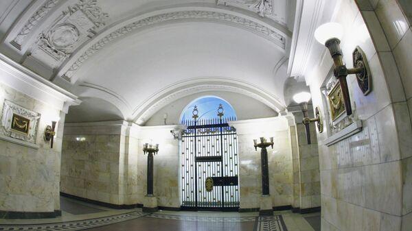 Станция Кольцевой линии Московского метрополитена Октябрьская