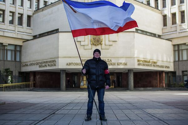 Депутаты парламента Крыма приняли решение о независимости автономии