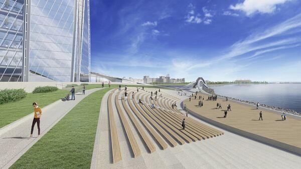 Проект набережной Лахта-центра