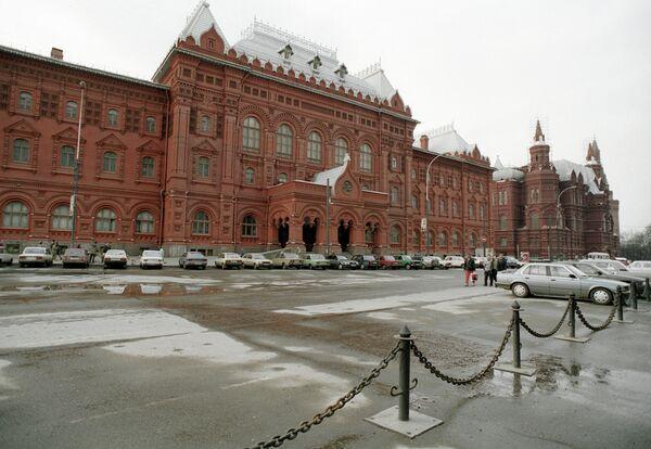 Площадь Революции в Москве