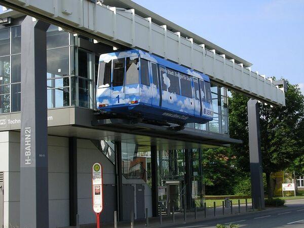 Воздушное метро в Дортмунде