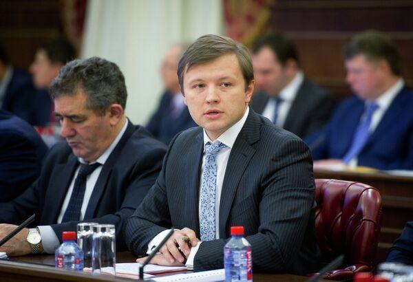 Министр правительства Москвы, руководитель департамента городского имущества города Москвы Владимир Ефимов