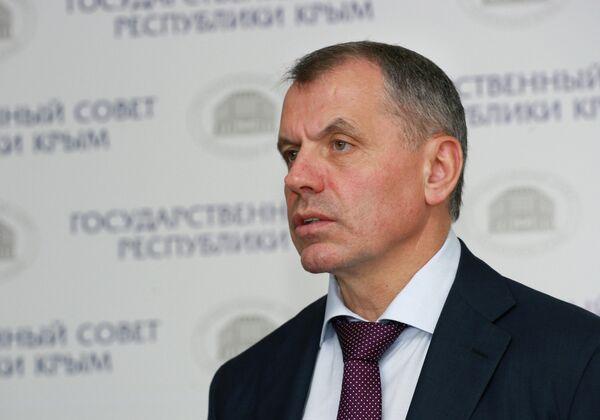 Заседание Государственного Совета Республики Крым в Симферополе