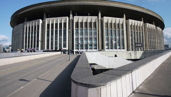 Стадион СК Олимпийский. Архивное фото