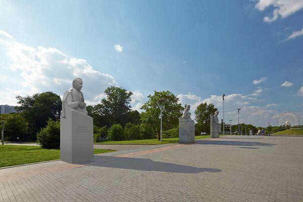 Проект памятника академику В.Н. Челомею