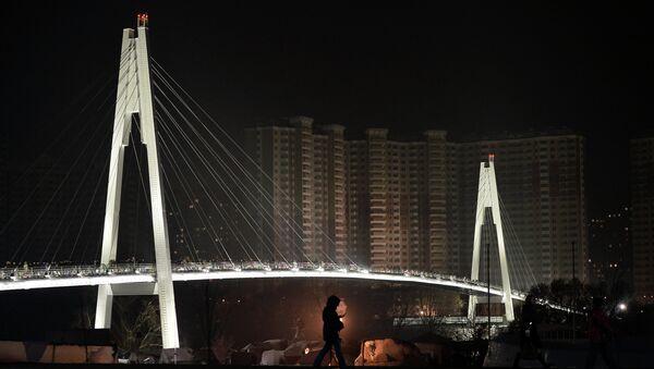 Открытие Павшинского пешеходного моста