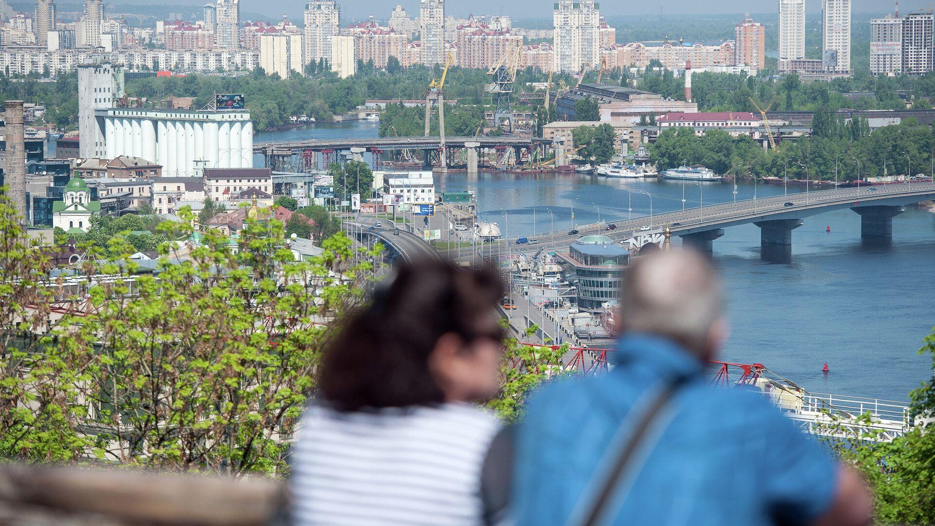 Панорама Киева из парка Владимирская горка - РИА Новости, 1920, 23.03.2021