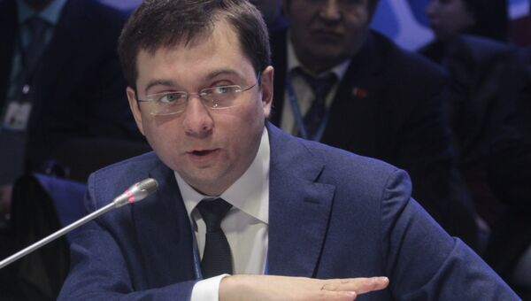 Заместитель министра строительства и ЖКХ, главный государственный жилищный инспектор РФ Андрей Чибис
