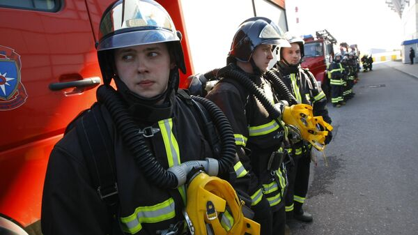 Командно-штабная тренировка МЧС по ликвидации чрезвычайной ситуации при возникновении угрозы теракта