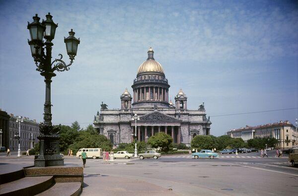 Исаакиевский собор в Ленинграде