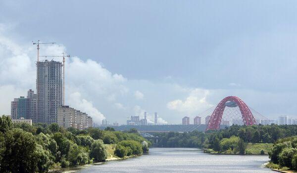 Мост Живописный в Серебряном бору