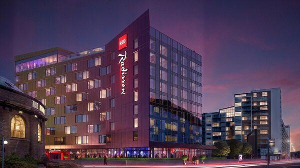 Отель Radisson Red в Глазго