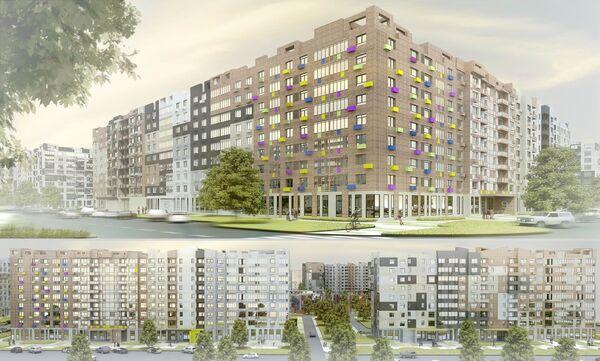 В микрорайоне Ильинское-Усово будут применены монолитные дома и энергоэффективные дома ультрасовременного ДСК Град, построенного в партнерстве с РОСНАНО