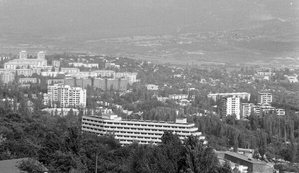 Панорама города-курорта Кисловодска