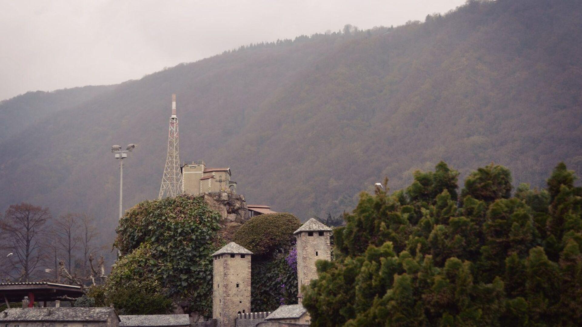 Гора Сан-Сальваторе в Лугано (миниатюра) - РИА Новости, 1920, 25.11.2020