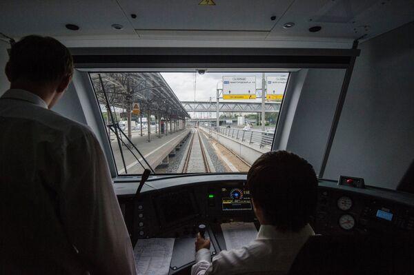 Тестовая поездка электропоезда Ласточка