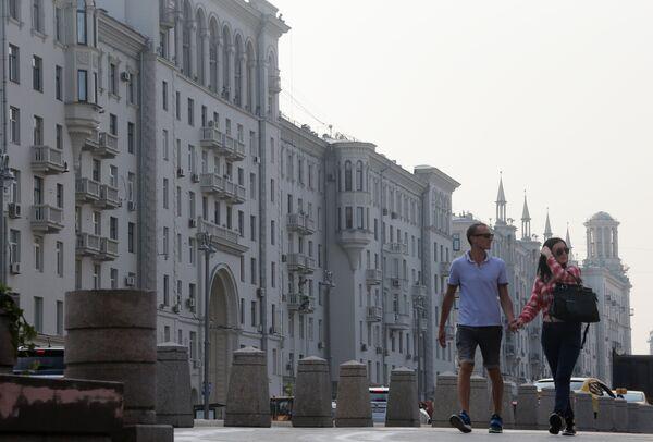 Тверскую улицу открыли после благоустройства