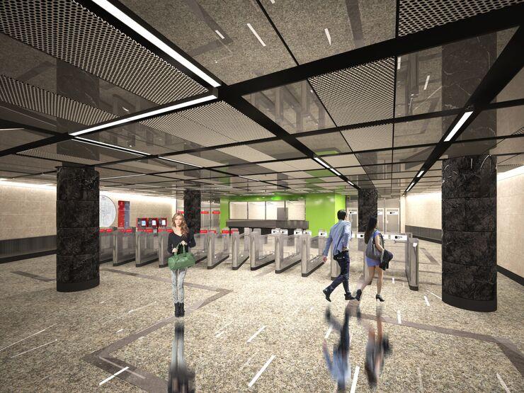 Станция Лухмановская Кожуховской линии метро Москвы
