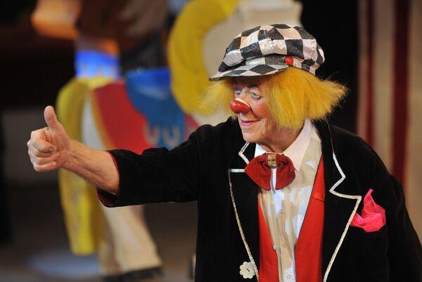 Олег Попов c программой Пусть всегда будет солнце! в Ростовском государственном цирке