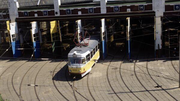 Трамвайное депо имени Апакова