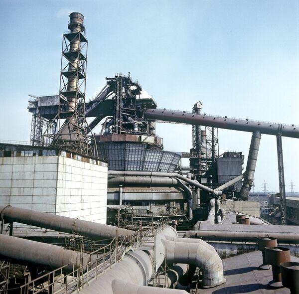 Доменная печь №9 Криворожского металлургического завода