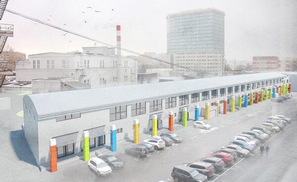 Проект реконструкции комплекса Правда