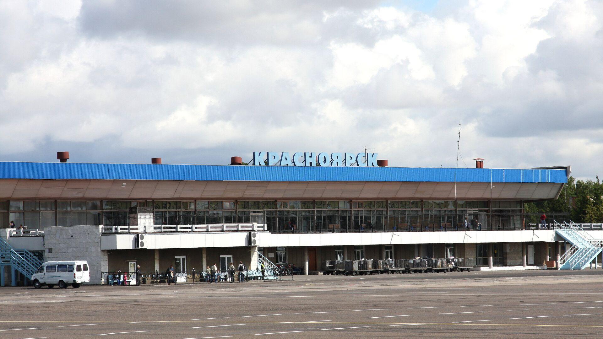 Аэропорт Емельяново (Красноярск) - РИА Новости, 1920, 02.08.2021