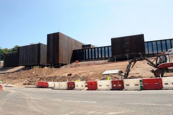 Музей Soulages во Франции на стадии строительства
