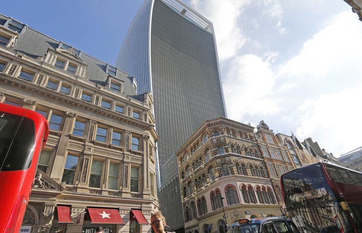 London's Walkie Talkie building