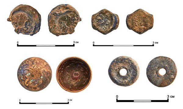 Содержимое клада, найденного на Бульварном кольце