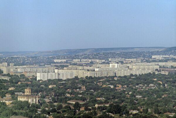 Панорамный вид на город Саратов