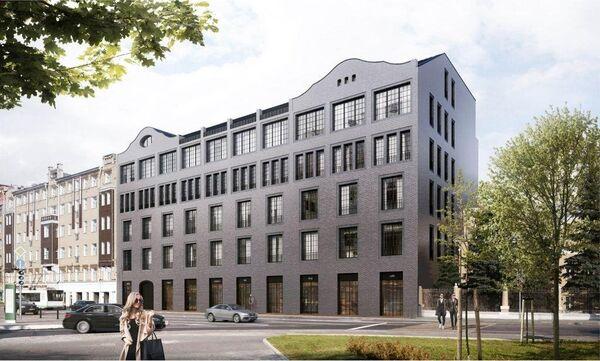 Проект реконструкции здания типографии по адресу Б. Полянка, вл. 9
