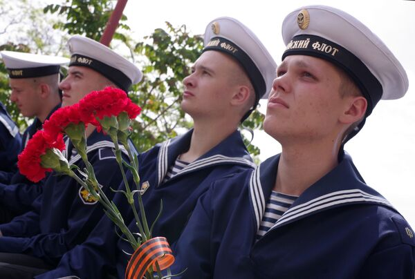 Празднование Дня Черноморского флота РФ в Крыму