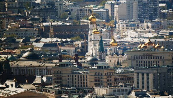 Города России. Москва. Архивное фото