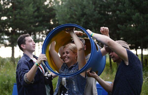 Международный фестиваль ландшафтных объектов в Никола-Ленивце Архстояние