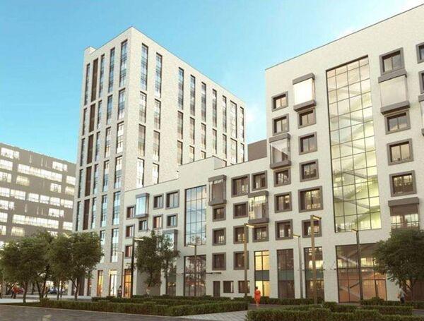 Архитектурное решение жилого дома на участке №18 в составе комплексной застройки района ЗИЛАРТ