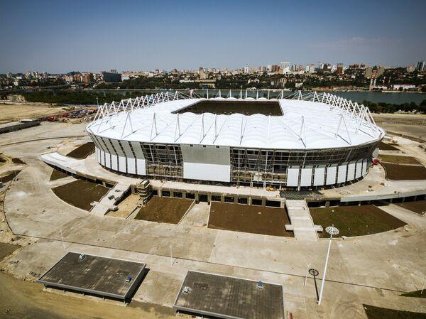 Строительство стадиона Ростов Арена