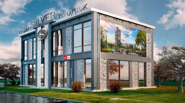 Жилой комплекс Silver AFI Development в Москве