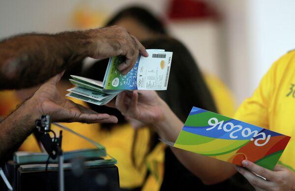Билеты на соревнования в рамках летних Олимпийских игр 2016 года в Рио-де-Жанейро
