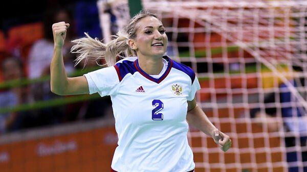 Олимпиада 2016. Гандбол. Женщины. Матч Франция - Россия