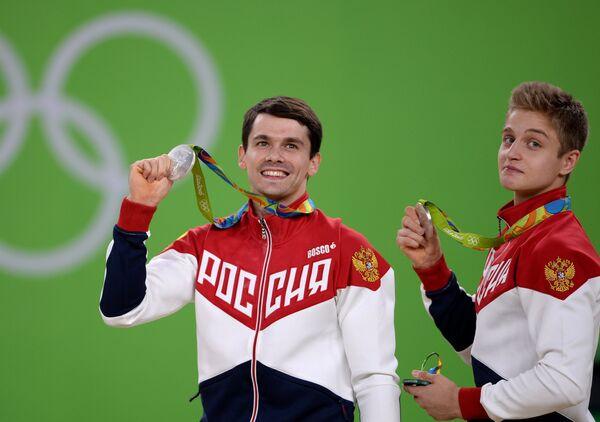 Спортсмены сборной России Николай Куксенков (слева) и Иван Стретович