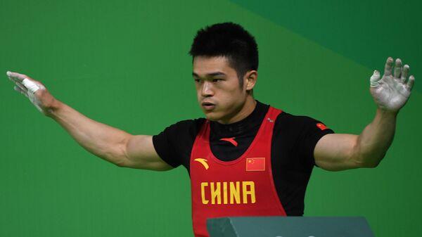 Китайский тяжелоатлет Ши Чжиюн