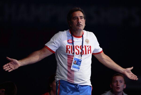 Старший тренер сборной России по рапире Стафано Чериони
