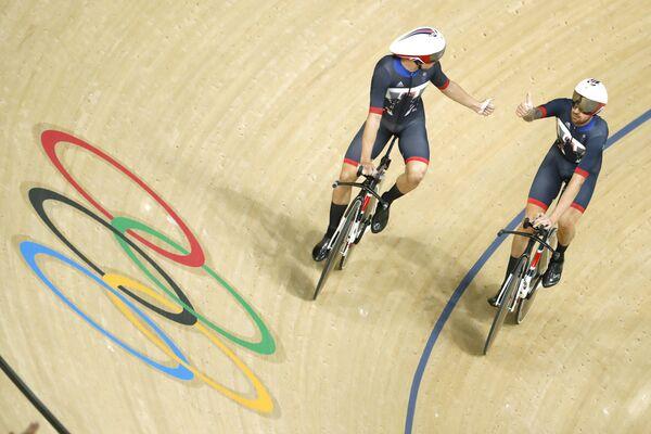 Сборная Великобритании по трековым велогонкам