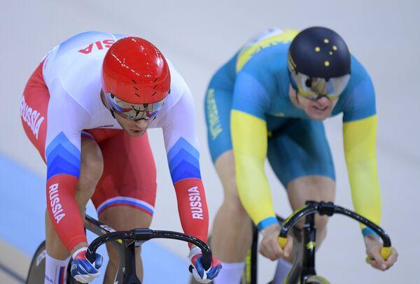 Денис Дмитриев (Россия) (слева) и Мэттью Глатцер (Австралия)